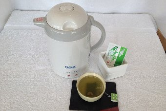 Thermo pot and Japanese tea